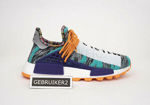adidas Originals x Pharrell PW Afro Solar Pack Hu NMD Hi Res Aqua Orange BB9528