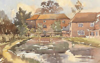 E.L. Grassby - Mid 20th Century Watercolour, Autumn View