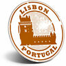 Awesome Fridge Magnet - Lisbon Portugal Travel Architecture Cool Gift #4294