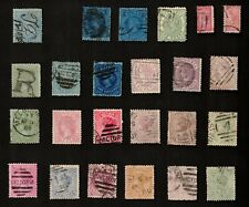 Victoria 1873-86 Mixed Lot of Stamps