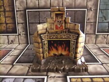 cheminée HEROQUEST fireplace furniture MB GAMES WORKSHOP .