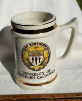 Vintage Giant University of Southern California Beer Stein USC Mug Ornament 50's