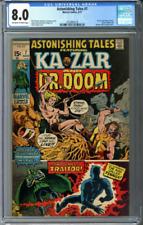 Astonishing Tales #7 CGC 8.0 dr doom black panther kazar