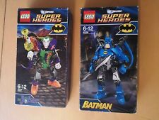 Lego Super Heroes 4526 Batman 4527 + The Joker Sealed Original DC Universe 2012