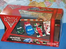DISNEY PIXAR CARS 2 RACING SHU TODOROKI, BERNOULLI, CAROULE, GEARSLEY 4 PACK