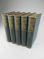 Henrik Ibsen - Sämtliche Werke - in 5 Bänden 1910 Gesamtwerk
