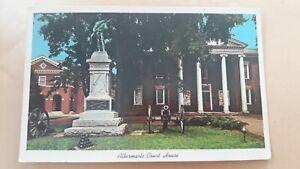 Postcard Albermarle  Court House Charlottesville Virginia USA Postcard