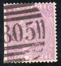 "Great Britain  Sc #51 plate 8 Used  ""TORQUAY"" 805 Cancel"