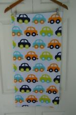 Safety 1st Car Baby Blanket Security Lovey Blue Orange Green White