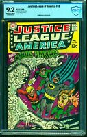 Justice League Of America #68 CBCS NM- 9.2 Off White to White DC Comics