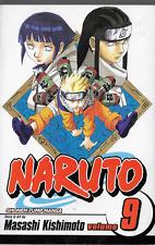 Naruto Vol 9 by Masashi Kishimoto 2006, PB Shonen Jump Manga Viz Media