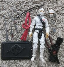 "G.I. JOE STORM SHADOW RENEGADES ROC POC 30TH 25TH ANNIVERSARY 3.75"" COBRA"