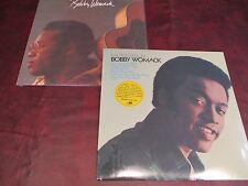 BOBBY WOMACK LOOKIN FOR A LOVE AGAIN & MY PRESCRIPTION 180 GRAM LP PRESSING SET