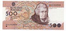 PORUGAL 500 ESCUDOS 1989 PICK 180 C UNC