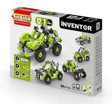 ENGINO Inventor Series-modello 12-Auto-Set di costruzione