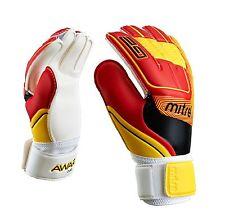 Mitre Junior Awara Goalkeeper Gloves White/Red/Yellow Size 6