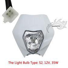Motorcycle Headlight For Suzuki DR DRZ DS RM RMZ ENDURO ALIEN SX SXF Motocross