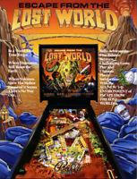 Escape From The Lost World Pinball FLYER Original 1988 NOS Game Artwork Bally