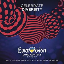 EUROVISION SONG CONTEST-KIEW 2017  (BLANCHE, NAVIBAND, ALMA, ...) 2 CD NEU