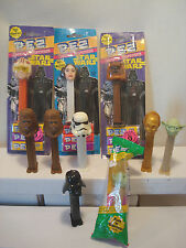 Lot Of 10....Star Wars....Pez Candy  -  Dispensers