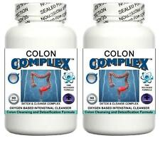 2 Bowel Colon Cleanser Pill Detox Digestive System Bloating Cleanse Weight Loss