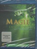 3D Magie des Waldes mit Panflötenklängen Blu Ray NEU 3D Entspannungsreise