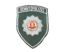 DDR policía Patch/insignia G para uniforme-chaqueta protección policial schupo Patch