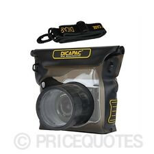 Original DiCAPac Waterproof CASE SONY for NEX3/ 5/ 5R/ 5N/ 6/ 7/ C3/ F3
