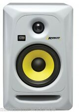 "WHITE KRK ROKIT 5 GEN. 3 - 5"" ACTIVE POWERED MONITOR SPEAKER Authorized Dealer"