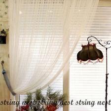 Plain White Fringe String Curtain New FREE SHIPPING