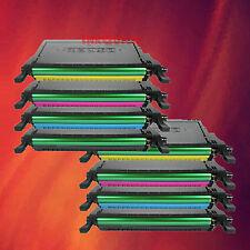 8 Color Toner Set for Samsung CLX-6200FX CLX-6200ND