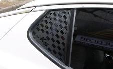 Rear Left Right C Pillar Carbon Black Sticker For 11 12 13 14 Kia Optima K5