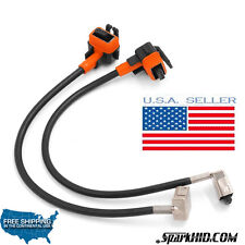 2pcs D1S D1R HID Xenon Bulbs Replacement Power Cords Cables For D1 HID Ballasts