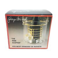 Georges Briard Vintage The Wine Adapter Brass Plated Wine Basket for Ice Bucket