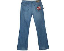Genuina marca nueva Just Cavalli Azul Denim Pierna Ancha Talla 31 para hombre Jeans