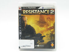 Resistance 2 PS3 Playstation 3 Complete Tested Free Shipping