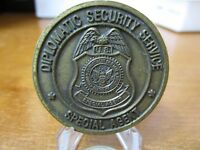 Department of State Diplomatic Security Service DSS Challenge Coin #7707
