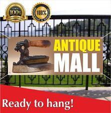Antique Mall Banner Vinyl / Mesh Banner Sign Grand Opening New Store