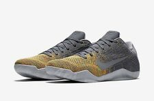 New Nike Kobe 11 Men's Basketball Shoe Size 14 MSRP Is $180 Gray And Yellow