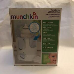 Munchkin Time Saver Bottle Warmer Steam Warming Convenient Easy