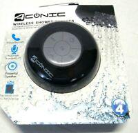 Shower Speaker for Smartphone & Other Bluetooth Media - Wireless - Aconic Black