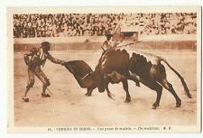 Bullfighting/Corrida de Toros - Un muletazo - Vintage postcard