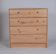 Madison 4 Drawer Wide Chest Pine Effect
