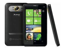 """Noir 4.3"""" HTC Tactile HD2 T8585 Windows Téléphone 5MP 3G WI-FI débloqué portable"""