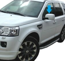 Fuji White FULL door wing MIRROR COVERS for Land Rover Freelander 2 LR2 new cap