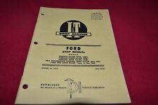 Ford Major Diesel Power Major Super Major 5000 Supe Tractor I&T Shop Manual SMPA