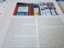 Deutsches Eisenbahn Archiv 26 Reise 5443 Die Wandlung Richtungsschilder am Zug