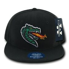 University of Alabama UAB Birmingham Blazers Flat Bill Snapback Baseball Hat Cap