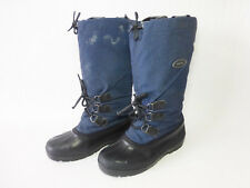 """Womens Sorel Blue Checked 14"""" Tall Snow Winter Boots - Size 10"""