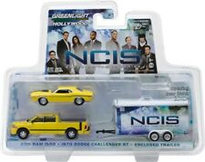 Greenlight NCIS TV Series 2015 Ram 1500 With 1970 Dodge Challenger 1/64  31040 C